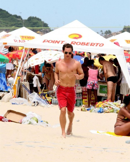 Matthew Mcconaughey Red Swim Body