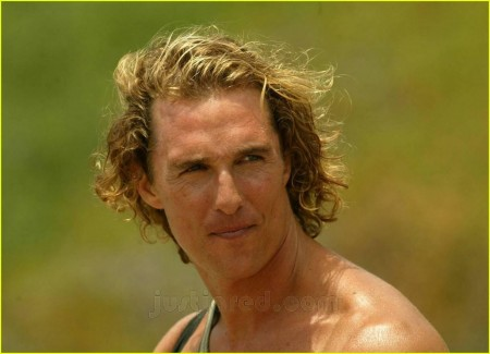 Matthew Mcconaughey Surfe Hair