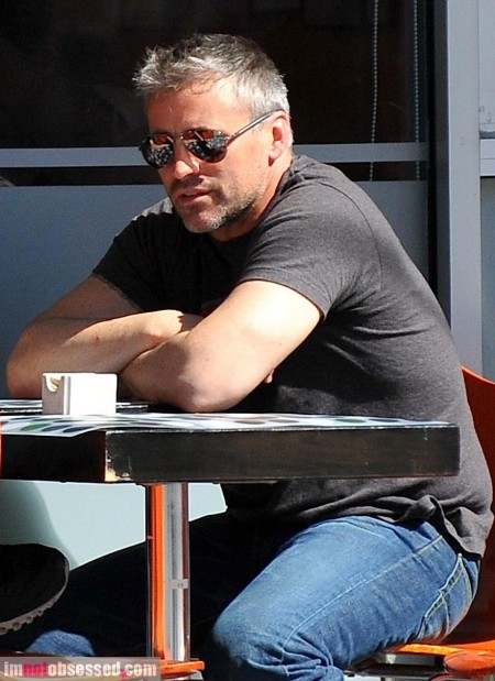 Matt Leblanc Lunches With Pal