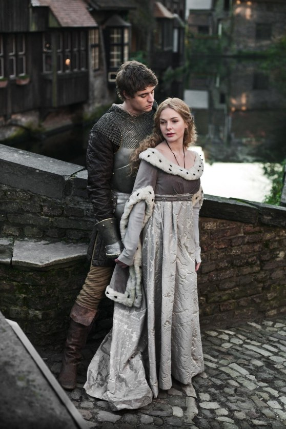 Max Irons And Rebecca Ferguson In The White Queen The White Queen