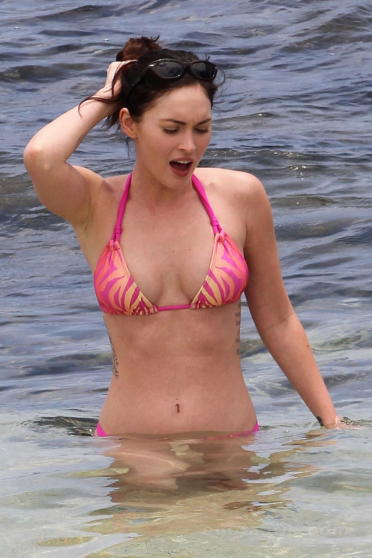 Megan Fox Bikini At The Beach In Hawaii June Beach