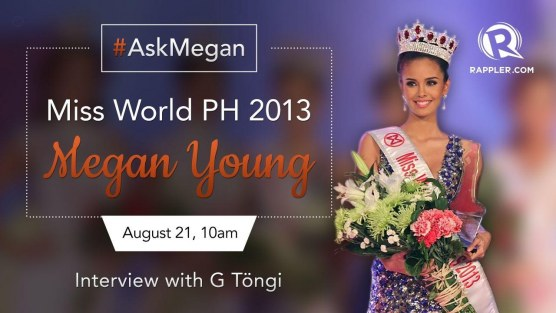 Megan Young Interview Rappler Use