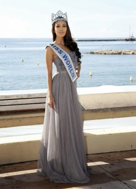 Megan Young Miss World At The Mipcom In Cannes