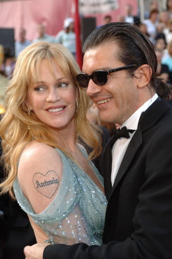 Melanie Griffith Gc Pa Af Young Photos