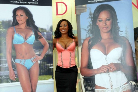 Mel With Big Cleavage In Pink Corset At Ultimo Underwear Launch In Glasgow Lo Ultimo