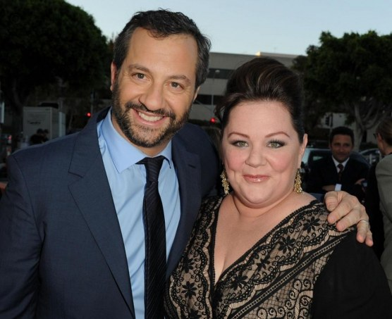 Judd Apatow And Melissa Mccarthy At Event Of Bridesmaids Large Picture Bridesmaids