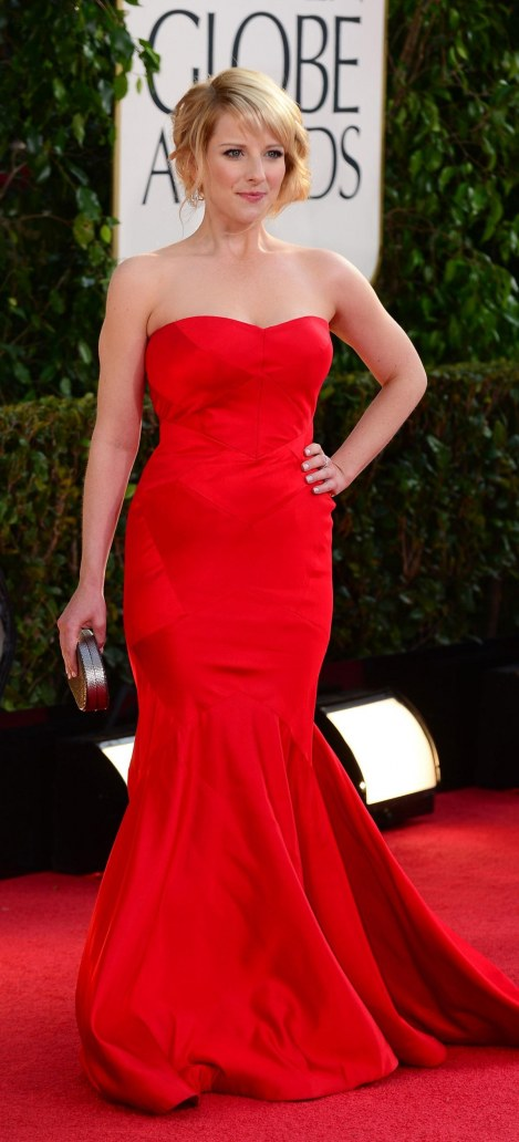 Melissa Rauch At Th Annual Golden Globe Awards In Beverly Hills Esquire