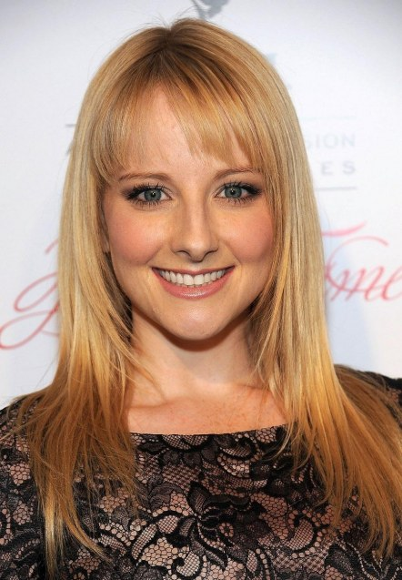 Melissa Rauch Busty At St Annual Hall Of Fame Event Beverly Hills St March