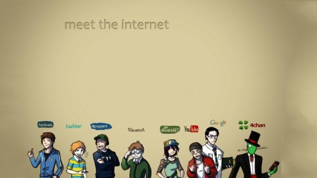 Facebook Internet Meme Google Youtube Twitter Myspace Wikipedia Deviantart Fresh Hd Wallpaper Wallpaper