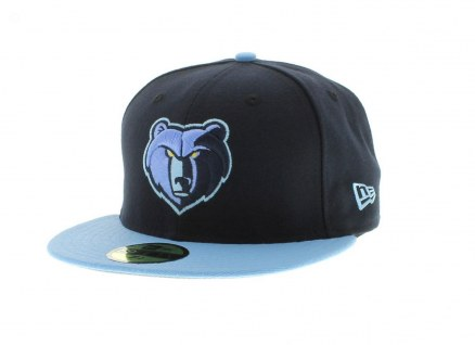 Memphis Grizzlies Team Colors The Playoffs Fitted Fifty New Era Cap