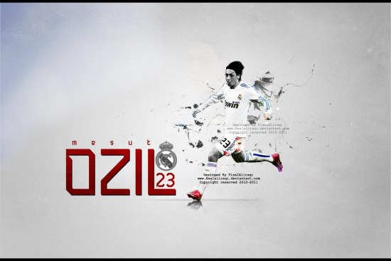 Mesut Ozil Vr By Fisalaliraqi Gp Wallpaper