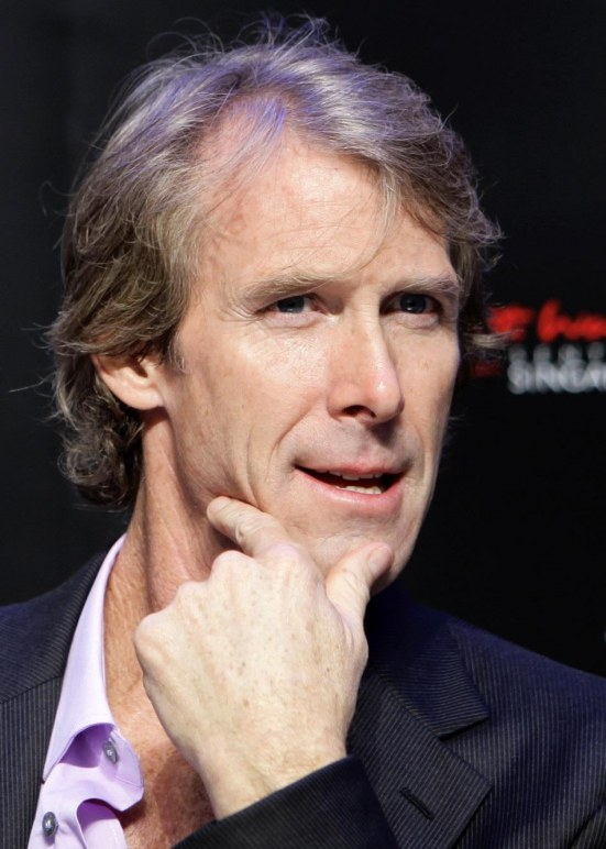 Director Michael Bay Listens To Question From The Media During New South Park