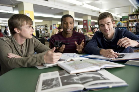 Still Of Michael Jordan Dane Dehaan And Alex Russell In Chronicle Large Picture Michael Jordan Chronicle