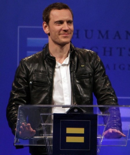 Michael Fassbender Human Rights Campaign Show