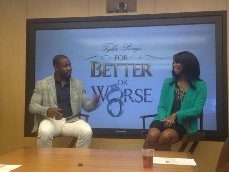 Tasha Smith And Michael Jai White Talk For Better Or Worse