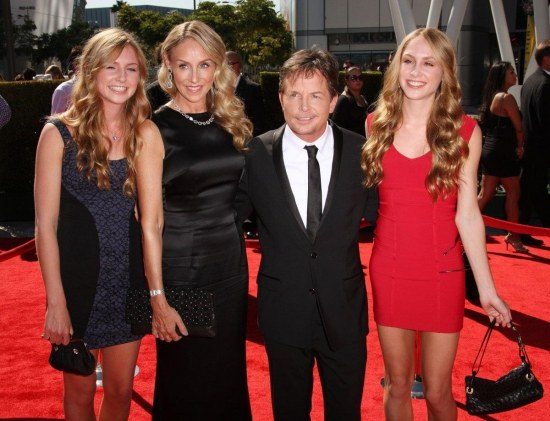 Michael J Fox Is The Shortest Of His Family At Michael J Fox Family