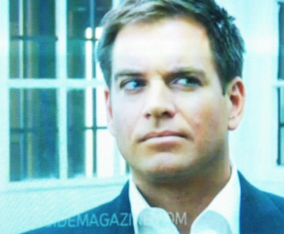 Tv Guide Photoshoot Michael Weatherly And Son