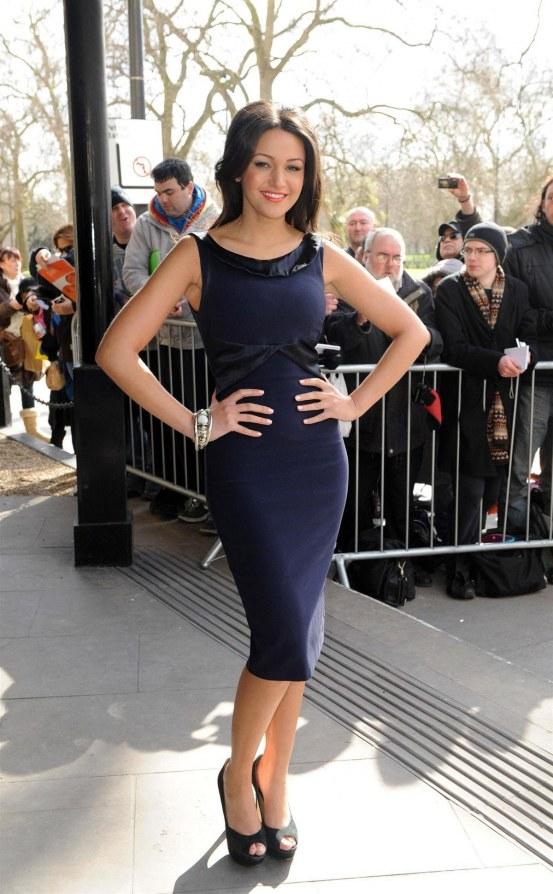 Michelle Keegan At The Tric Awards In London