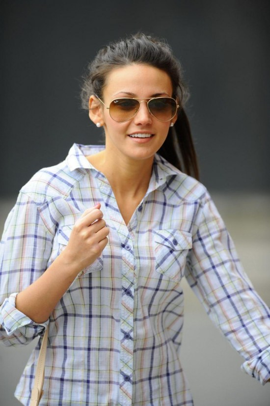 Michelle Keegan Out Amp About At Manchester Th May Helen Flanagan