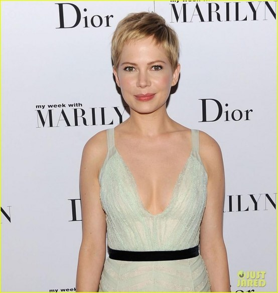 Michelle Williams At My Week With Marilyn Premiere In New York Lp Hot