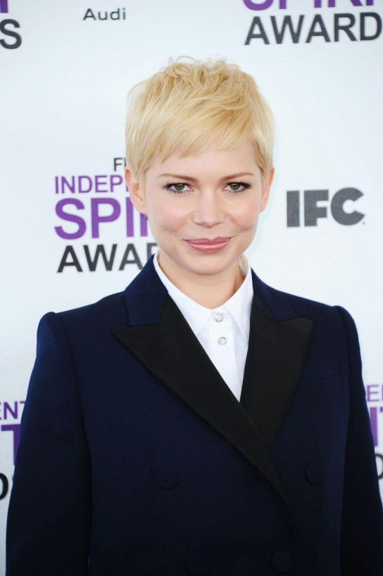 Michelle Williams In Louis Vuitton Pre Fall At Independent Spirit Awards Young