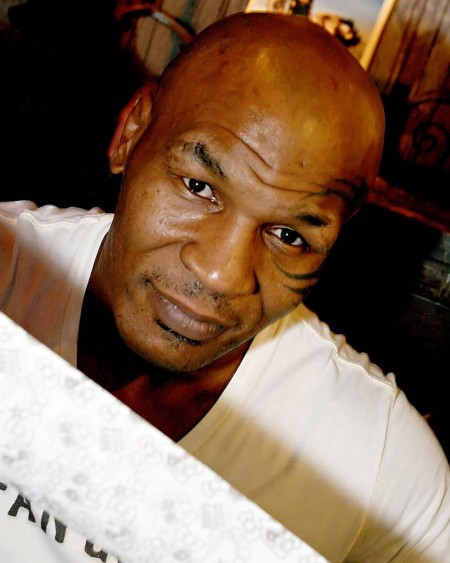 Mike Tyson Attends An Event At