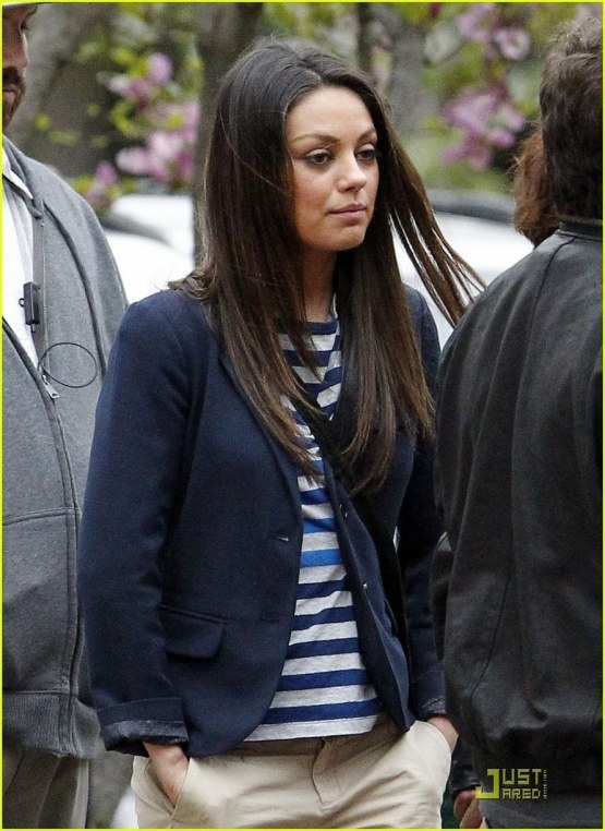Mila On Set Of Ted Mila Kunis Ted