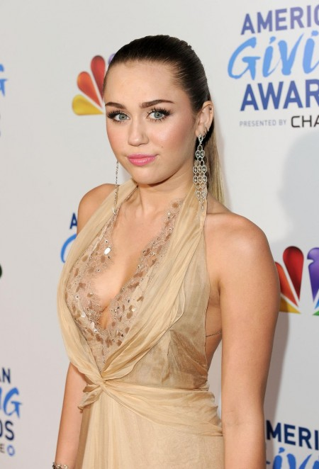 Miley Cyrus American Giving Awards Awards