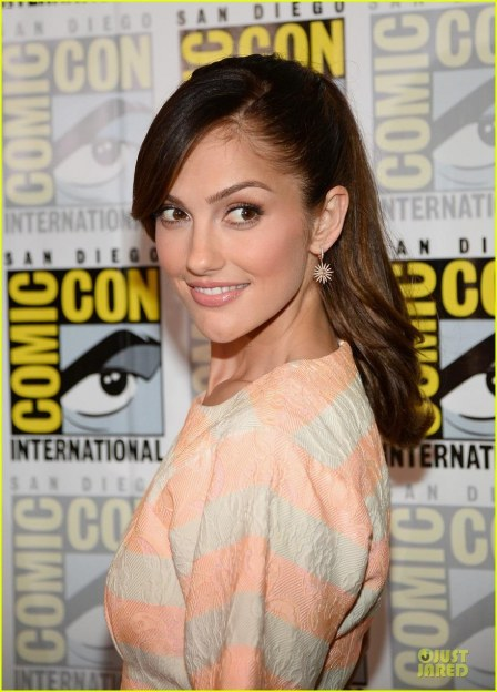 Minka Kelly Comic Con