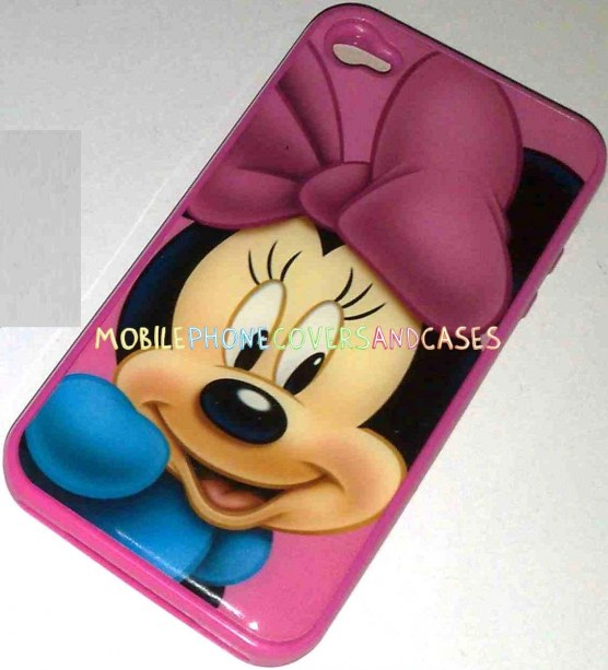 Minnie Mouse Pink Tpu Case Skin For Apple Iphone Pink