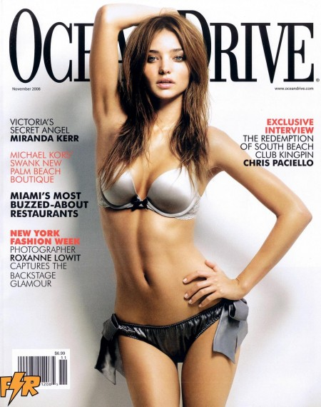 Fashion Scans Remastered Miranda Kerr Ocean Drive November Scanned By Vampirehorde Hq Hair