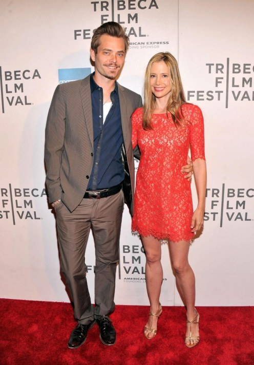 Mira Sorvino At Tribeca Film Festival Beach