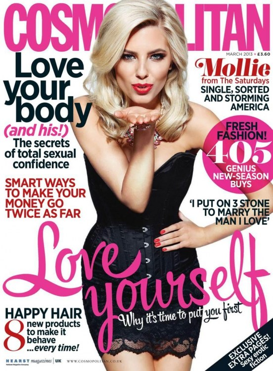 Mollie King Cosmopolitan Uk Fhm