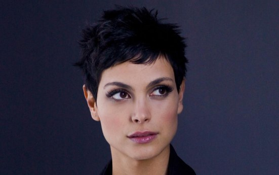 Morena Baccarin Jun Short Hair