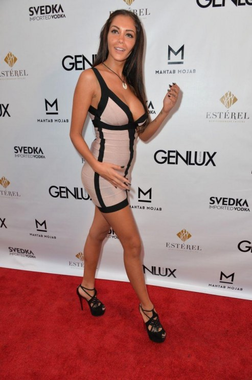 Nabilla Benattia At Genlux Magazine Issue Release Party In La