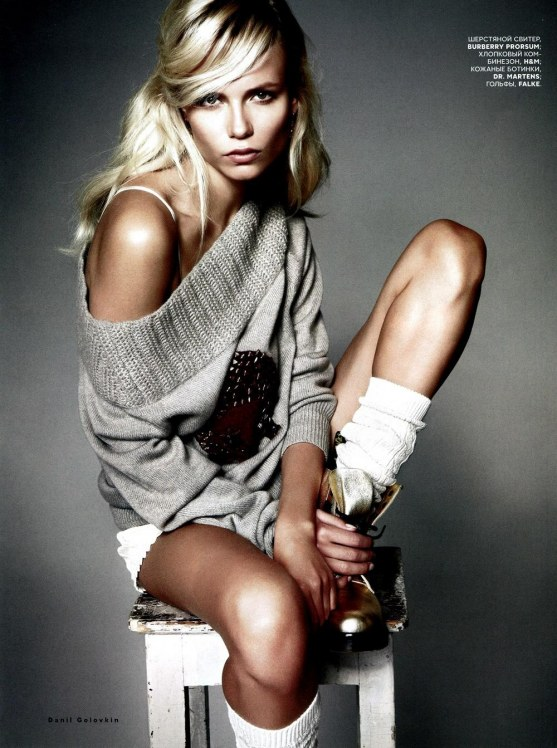 Natasha Poly Vogue Russia