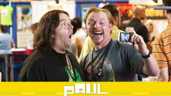 Paul Nick Frost And Simon Pegg Wallpaper