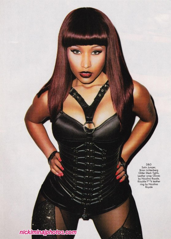 Nicki Minaj Black Men Photo Shoot