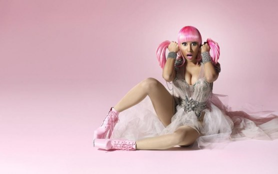 Nicki Minaj Pink Hair Wide Pink Hair