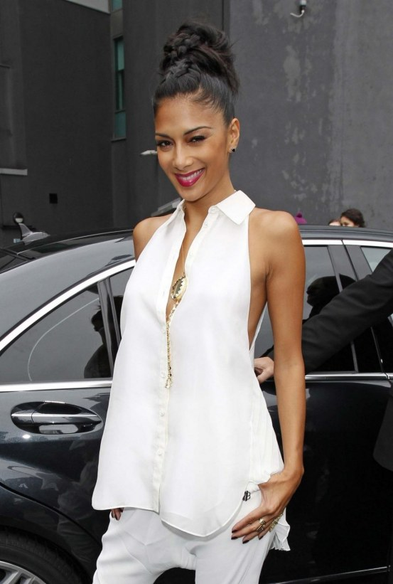 Leaving Her Hotel July Nicole Scherzinger