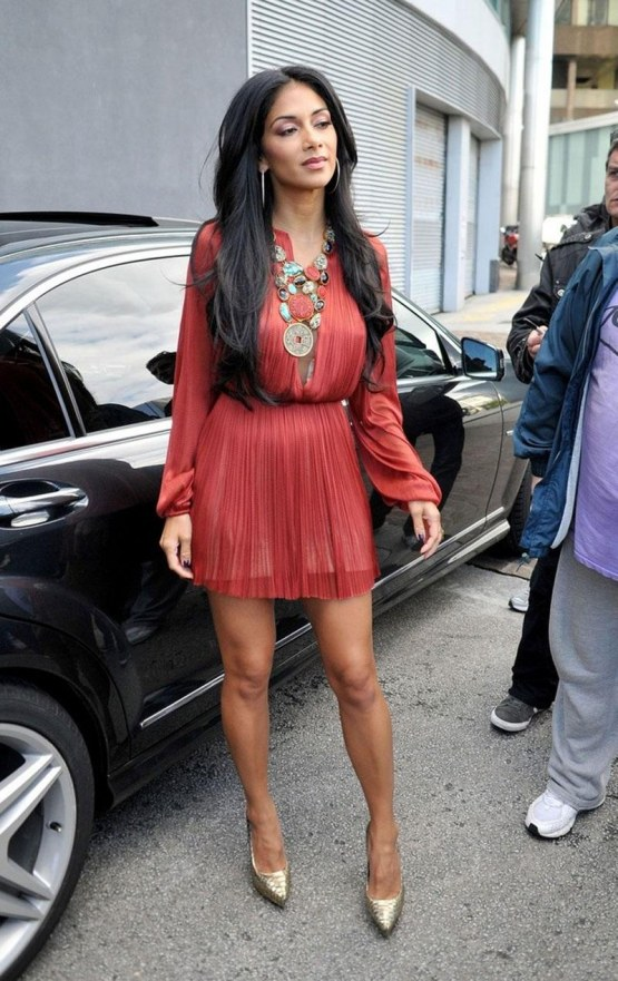 Nicole Scherzinger Arrives At The Factor Camp In Liverpool Factor