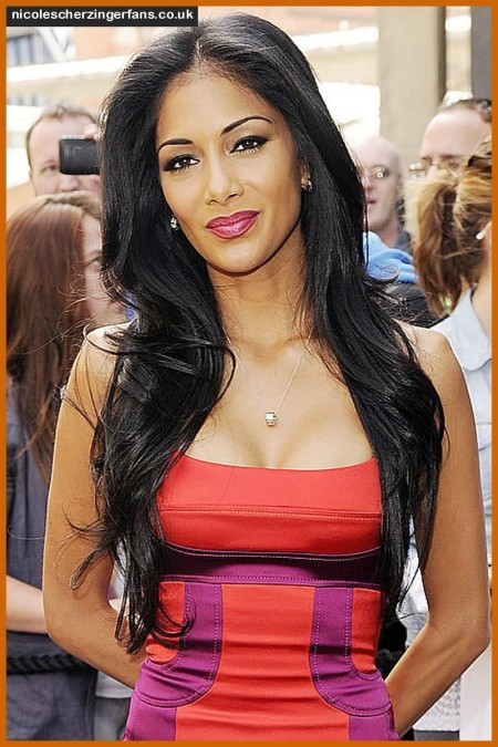Nicole Scherzinger Cleavage Factor The Factor