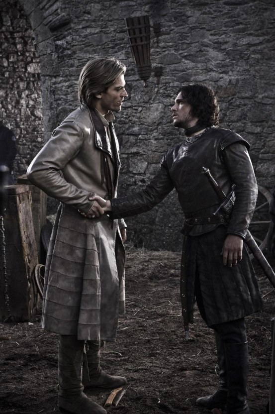 Picture Of Nikolaj Coster Waldau And Kit Harington In Game Of Thrones Large Picture Kit Harington