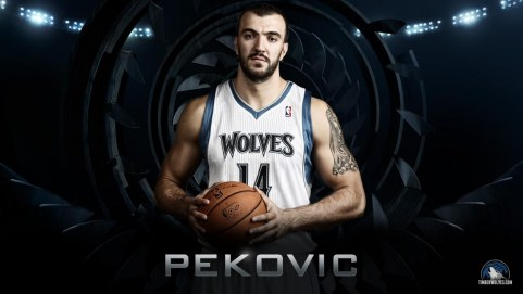 Nba Minnesota Timberwolves Season Nikola Pekovic Power Forward Center Widescreen Hd Wallpaper Nba