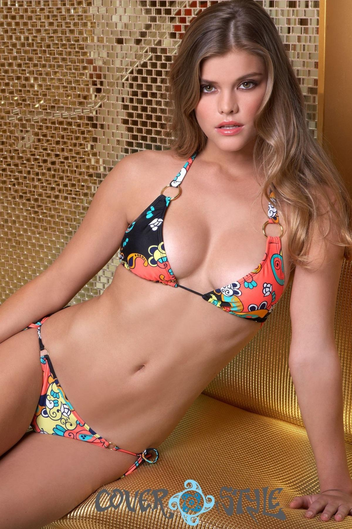 Nina Agdal Bikini Photoshoot For Cover Style Style