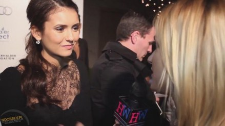 The Ripple Effect Event Hollywire Tv Interview Nina Dobrev Tv