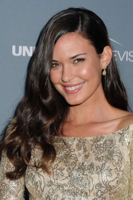 Odette Annable Red Carpet Dress House Series Finale