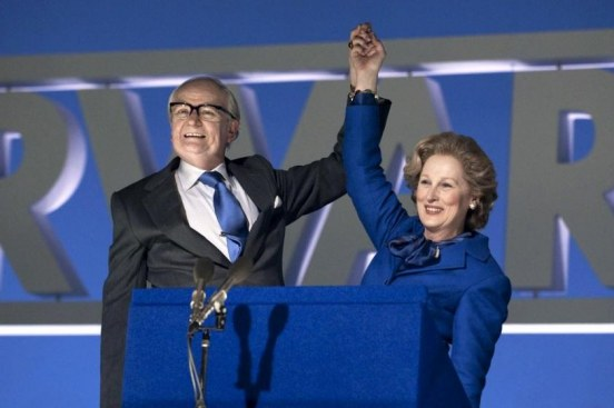 Jim Broadbent Stars As Denis Thatcher And Meryl Streep Stars As Margaret Thatcher In The Iron Lady Iron Lady