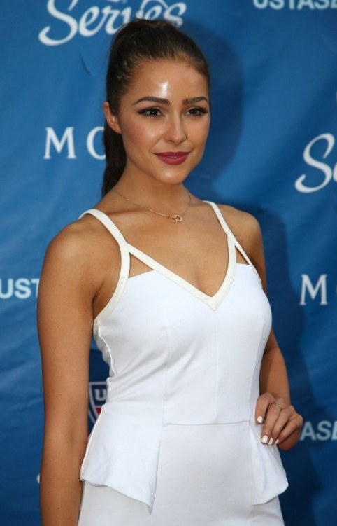Olivia Culpo At Us Open Opening Night In New York
