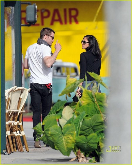 Chris Pine Olivia Munn Coffee Date Chris Pine